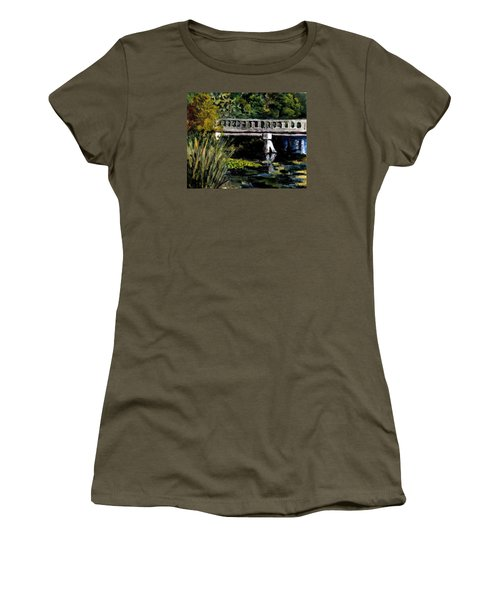 View From Phillips' Park Women's T-Shirt (Athletic Fit)