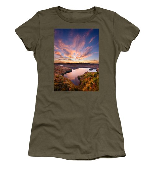 View From The Ledge Women's T-Shirt