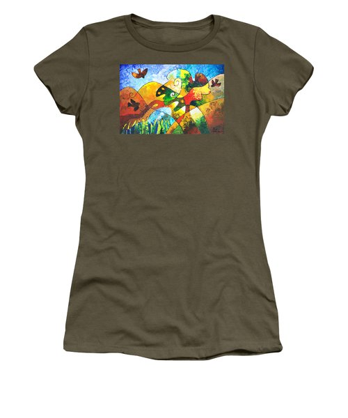 View From Valley Road Women's T-Shirt