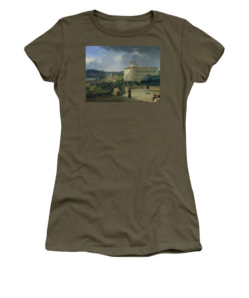 View Of The Villa Medici In Rome Women's T-Shirt