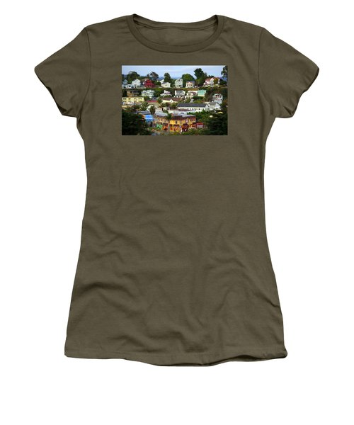 Village View  Sig Women's T-Shirt (Athletic Fit)