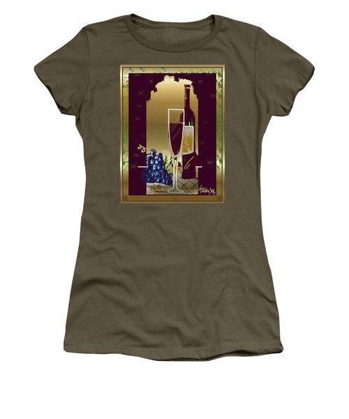 Vin Pour Une Women's T-Shirt (Athletic Fit)
