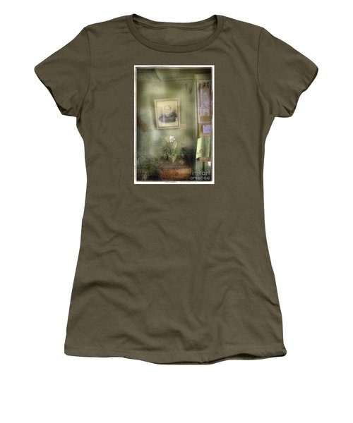 Women's T-Shirt (Junior Cut) featuring the photograph Vinalhaven Mother by Craig J Satterlee
