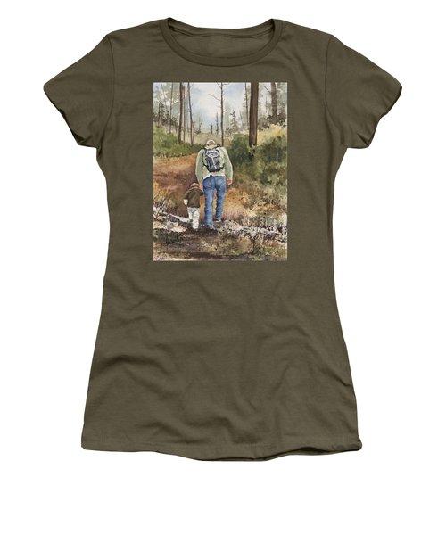 Vince And Sam Women's T-Shirt (Junior Cut) by Sam Sidders