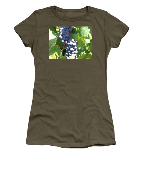 Vino On The Way Women's T-Shirt (Junior Cut)
