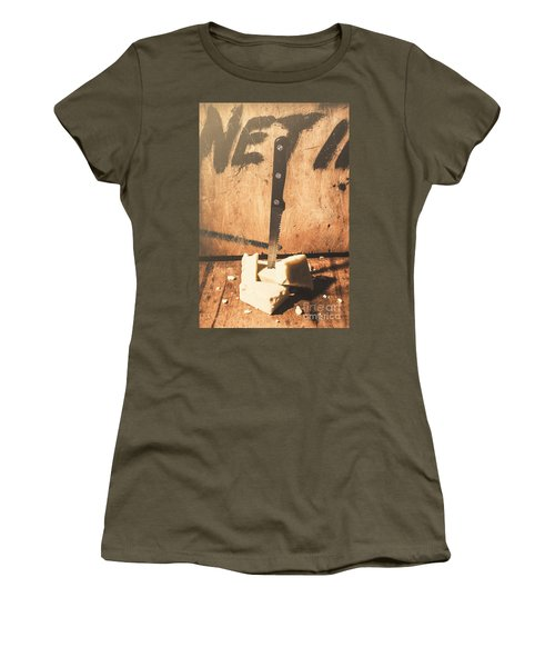 Vintage Cheese Crumble Women's T-Shirt