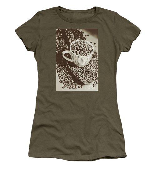 Vintage Coffee Art. Stimulant Women's T-Shirt