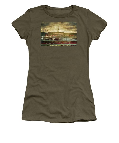 Vintage Fenway Park - Boston Women's T-Shirt (Athletic Fit)