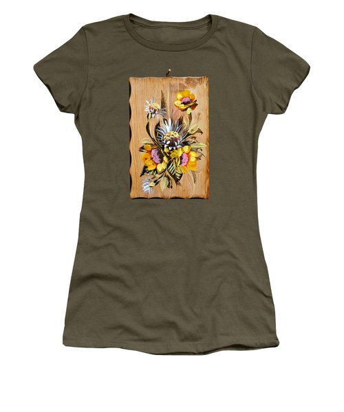 Vintage Floral Bouquet Women's T-Shirt
