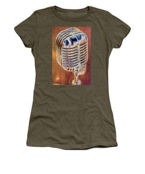 Vintage Microphone Women's T-Shirt