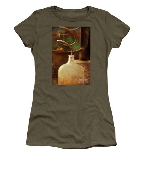 Vintage Moonshine Still Women's T-Shirt (Junior Cut) by Jill Battaglia