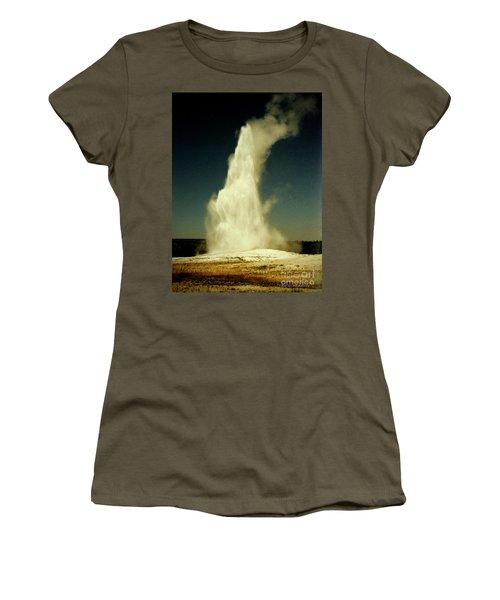 Vintage Old Faithful Women's T-Shirt