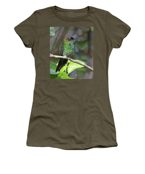 Violet-fronted Brilliant Women's T-Shirt (Athletic Fit)