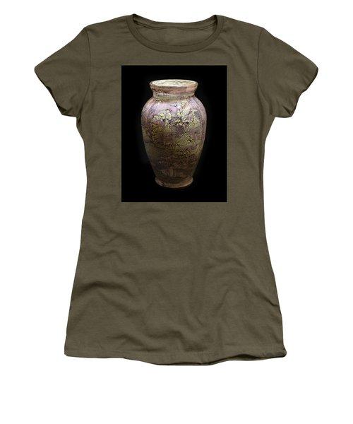 Violet Vase Women's T-Shirt (Athletic Fit)