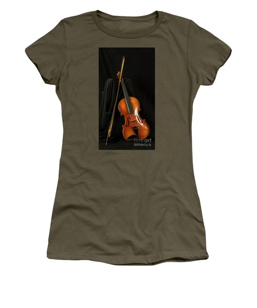 Violin And Bow Women's T-Shirt