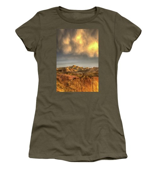 Virga Over The Badlands Women's T-Shirt (Athletic Fit)