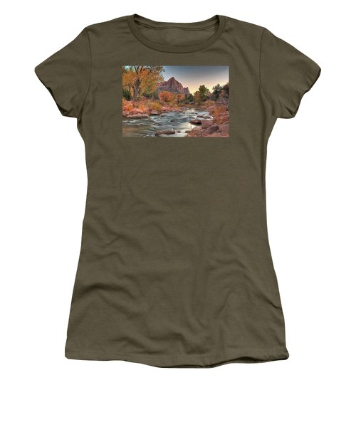 Virgin River And The Watchman Women's T-Shirt (Athletic Fit)