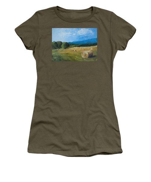Virginia Hay Bales II Women's T-Shirt