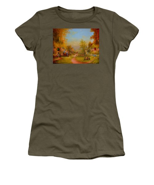 Visit From An Old Friend Women's T-Shirt (Athletic Fit)