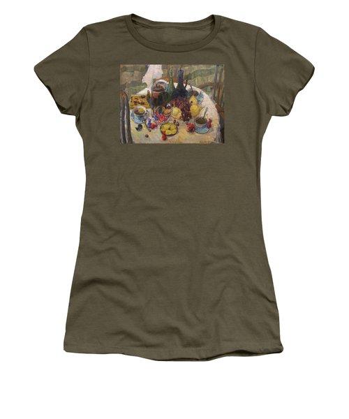 Visitors Women's T-Shirt (Athletic Fit)