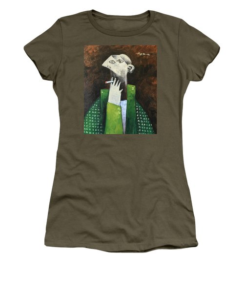 Vitae The Smoker Women's T-Shirt (Athletic Fit)