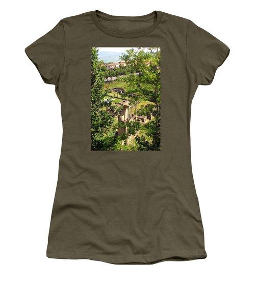 Volterra's Roman Ruins Women's T-Shirt (Athletic Fit)