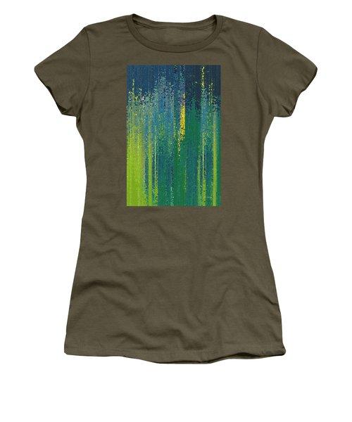 Wait For God. Lamentations 3 25 Women's T-Shirt (Athletic Fit)