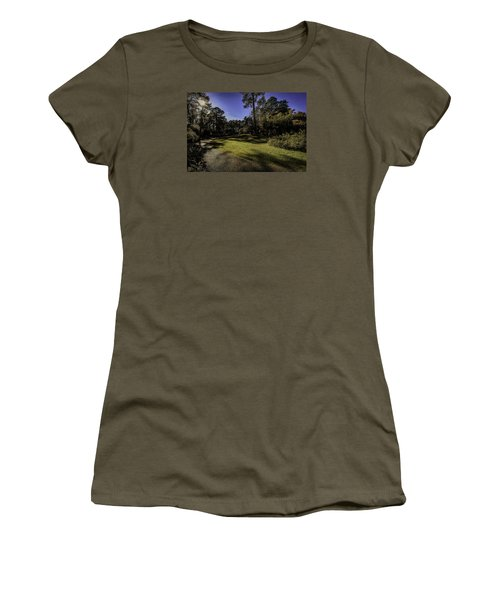 Walk In The Sun Women's T-Shirt (Athletic Fit)