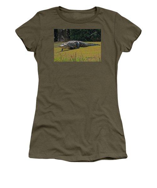 Walking Appetite Women's T-Shirt (Athletic Fit)
