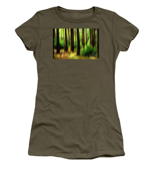 Walking In The Woods Women's T-Shirt