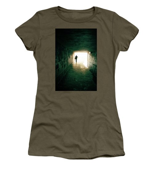Walking Into The Light Women's T-Shirt