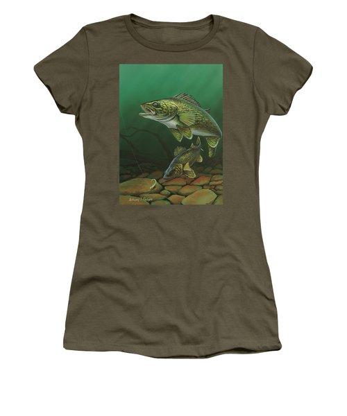 Walleye Women's T-Shirt
