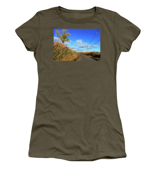 Wanderer's Way Women's T-Shirt (Athletic Fit)