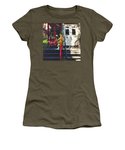 Wandering Around The Plateau On A Women's T-Shirt
