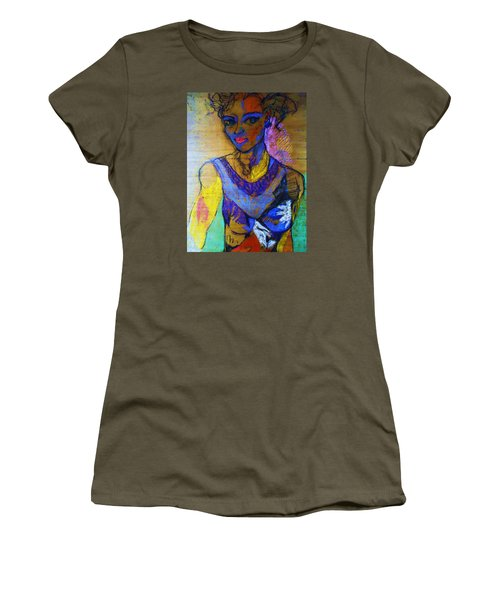 Warhol Simone Women's T-Shirt (Athletic Fit)