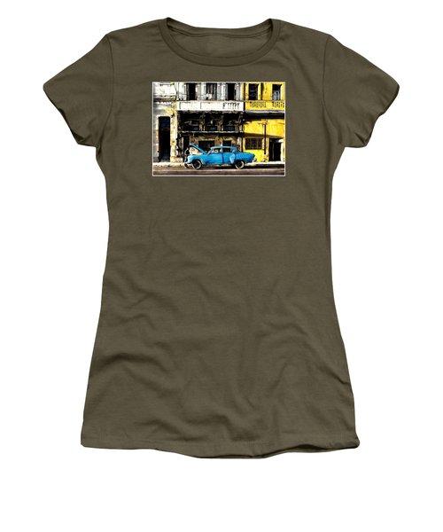Warm Street Of Cuba Havana Women's T-Shirt