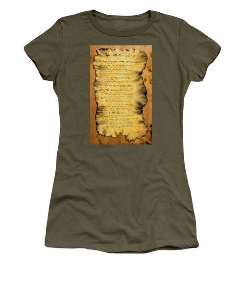 War's Poem Women's T-Shirt