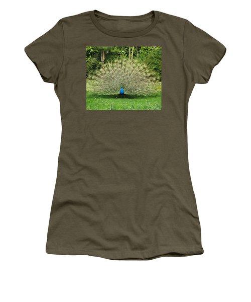 Warwick Castle Peackock Women's T-Shirt