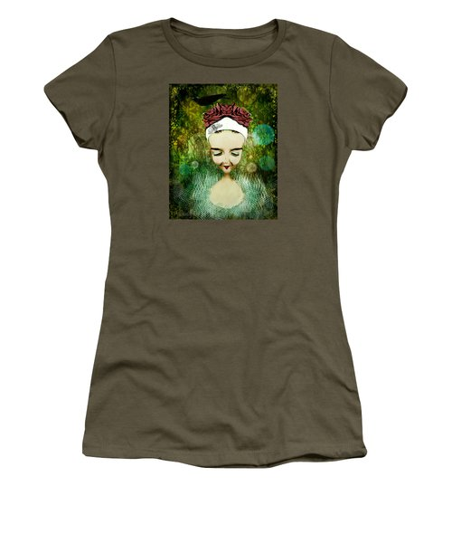 Women's T-Shirt featuring the digital art Wash Your Face Each Night by Delight Worthyn