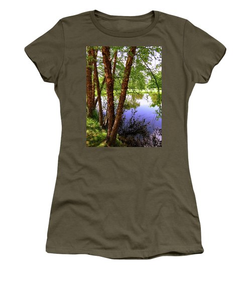 Water Birch Women's T-Shirt (Athletic Fit)