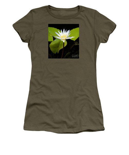 Water Lily 1 Women's T-Shirt (Athletic Fit)
