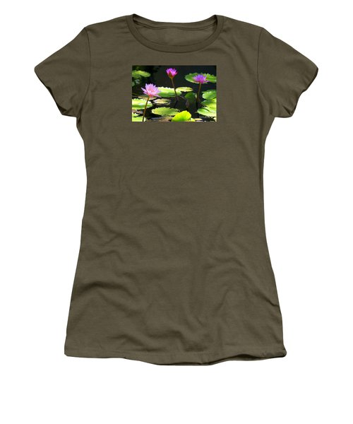 Water Lily 5 Women's T-Shirt (Athletic Fit)