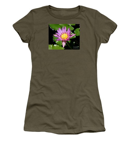 Water Lily 8 Women's T-Shirt (Athletic Fit)