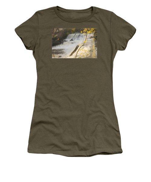 Water Over The Dam. Women's T-Shirt