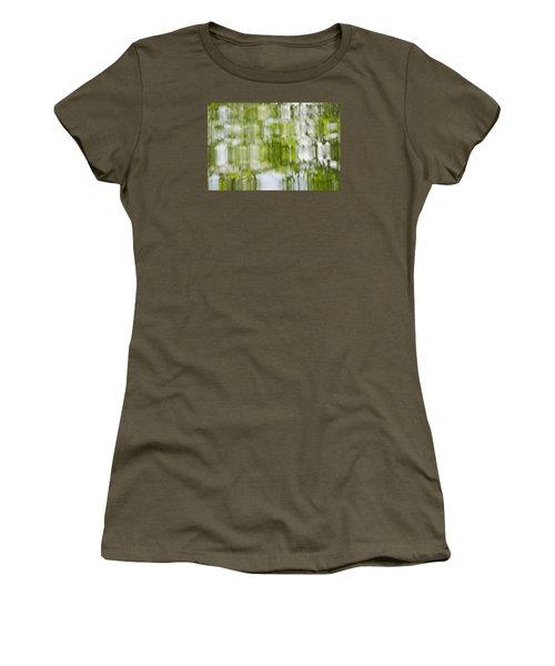 Water Reflections Women's T-Shirt (Junior Cut) by Wanda Krack