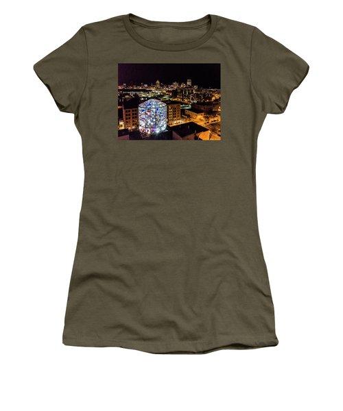 Water Tower Skyline Women's T-Shirt