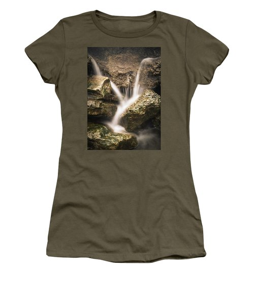 Waterfall Detail  Women's T-Shirt (Athletic Fit)
