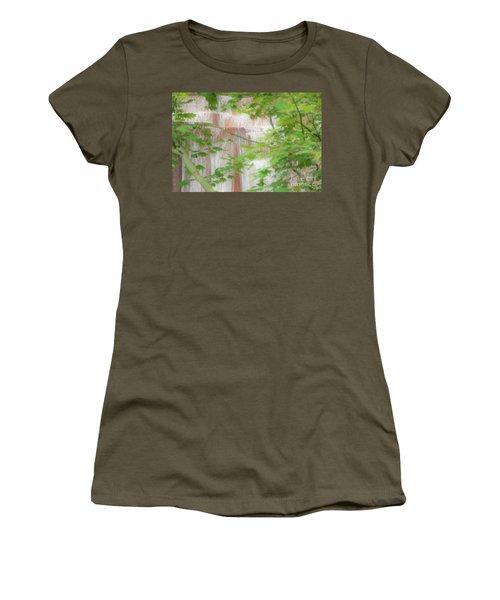 Waterfall, Portland Women's T-Shirt