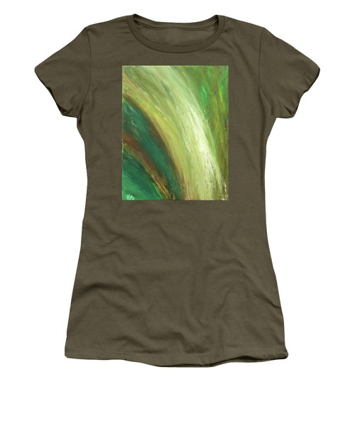 Waterfalls  Women's T-Shirt (Athletic Fit)