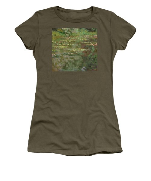 Waterlilies Or The Water Lily Pond Women's T-Shirt